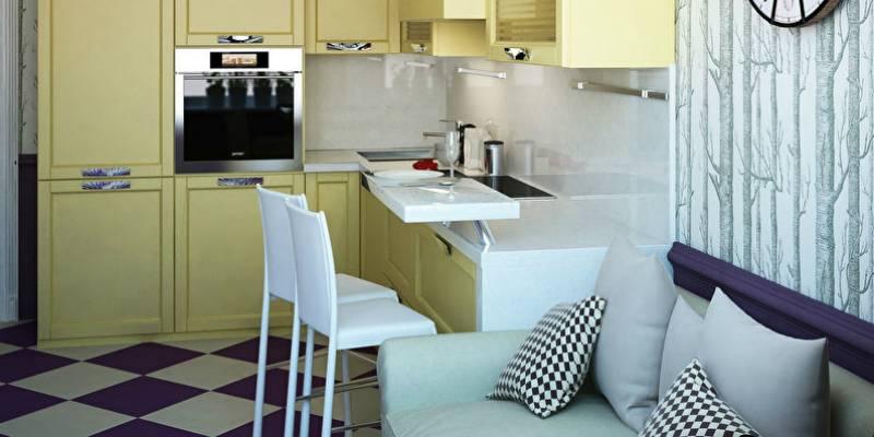 Кухня-спальня: гид по дизайну и 53 фото