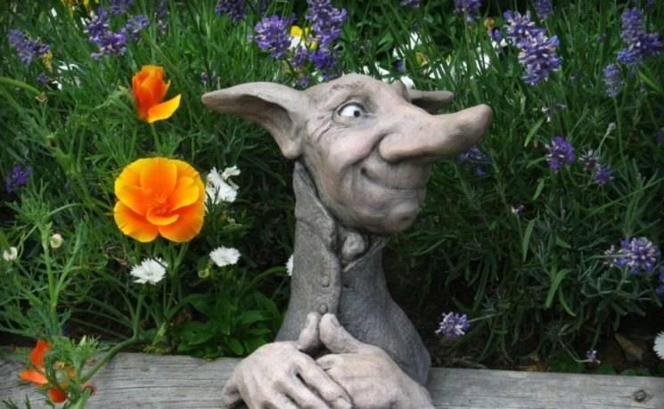 Скульптуры для сада - рекомендации по выбору стиля и идеи (155 фото)