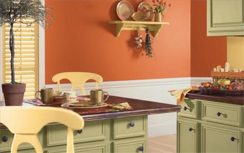 Чем и как покрасить керамическую плитку на кухне своими руками?