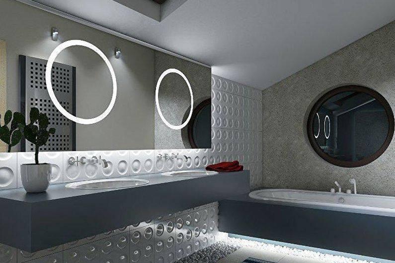 Туалет в стиле лофт: рекомендации по оформлению и красивые примеры