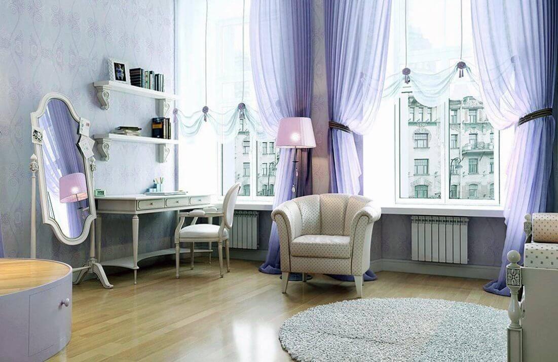 Все про бежевые шторы (занавески) в интерьере: для гостиной, в зал и спальню