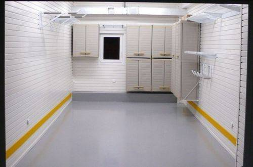 Отделка гаража внутри - потолок, стены, полы. обзор облицовочных материалов и рекомендации по выполнению работ