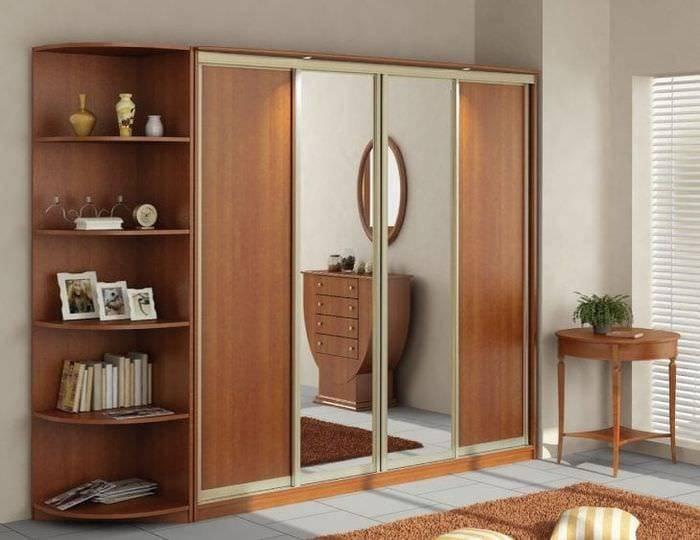 Дизайн шкафов-купе в спальню (69 фото): идеи угловых шкафов в современном интерьере