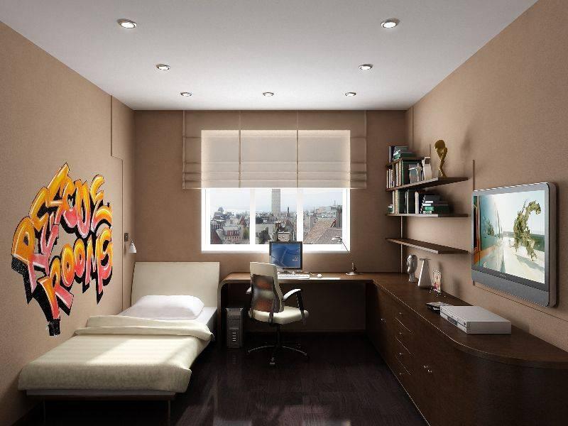 Спальня 9 кв. м.: 90 фото обустройства маленьких спален всем необходимым