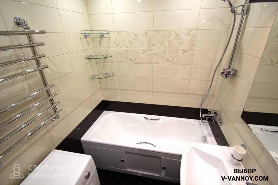 Дизайн маленькой ванной комнаты: фото в квартире, оформление санузла совмещенного с туалетом и без него
