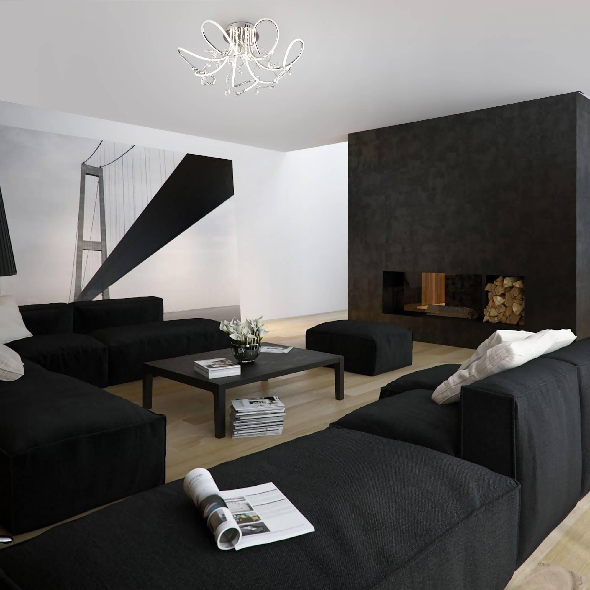 Интерьер гостиной в стиле минимализм — 50 фото дизайнов