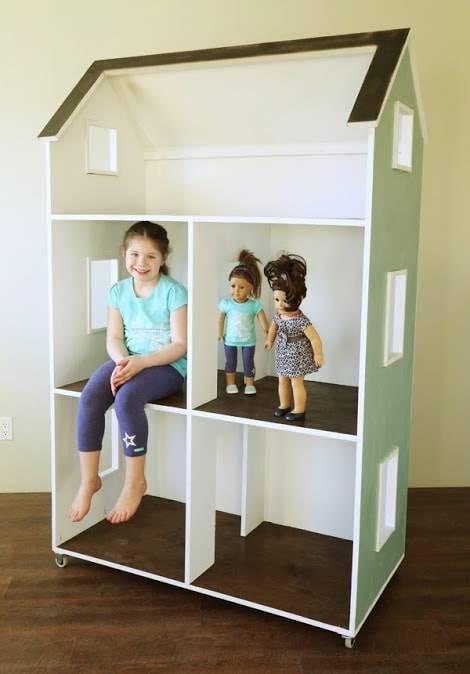 Кукольный домик для дочек - коробочка идей и мастер-классов