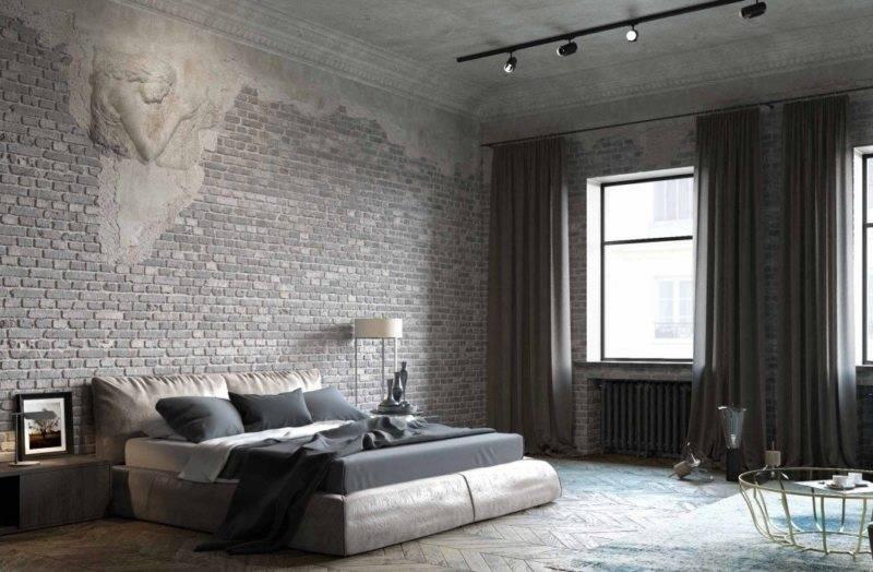 Спальня в стиле лофт: фото интерьеров маленьких комнат и советы по оформлению дизайна небольшого помещения, выбор мебели и материалы отделки