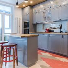 Функциональность и комфорт – кухня с островом на современный лад