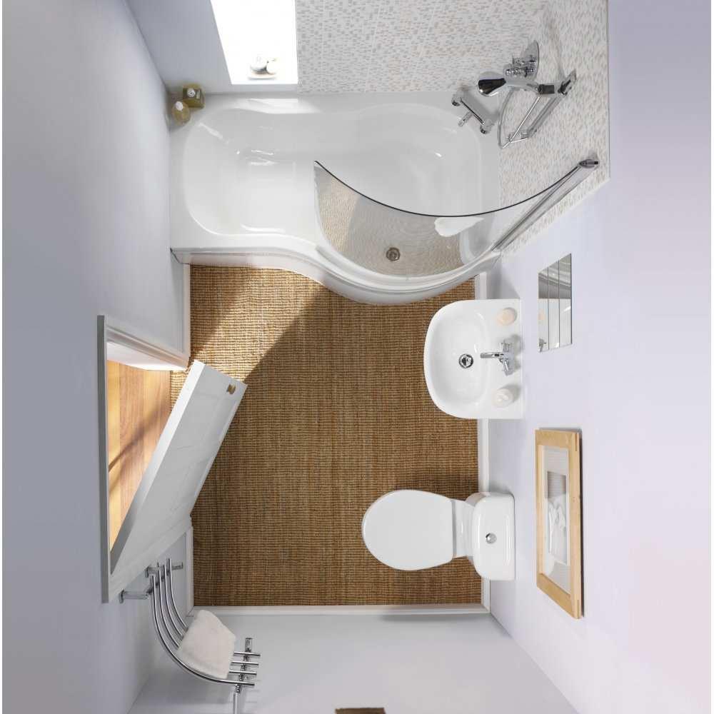 Дизайн маленькой ванной комнаты: лучшие идеи планировки (+ фото)