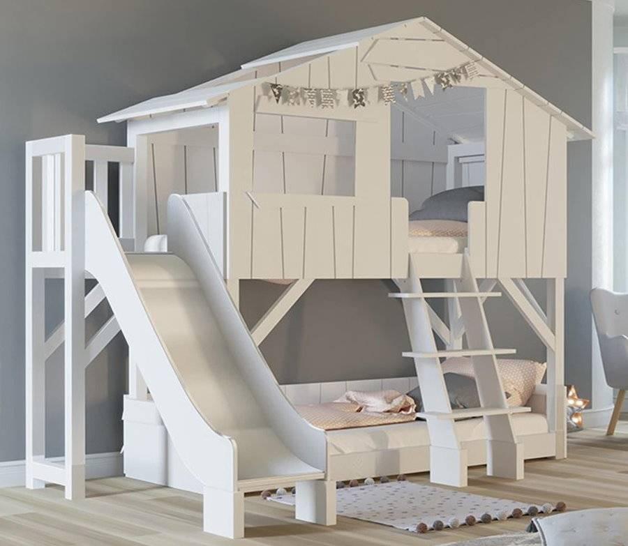 Идеи по выбору вида и дизайна детских кроватей с горкой