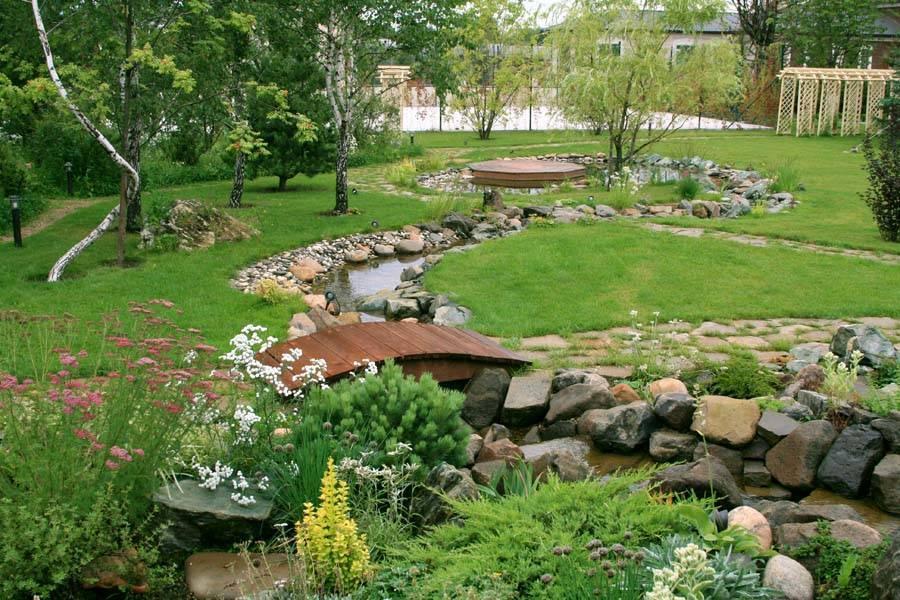 Готовые ландшафтные композиции для дачи и частного дома: виды и варианты размещения
