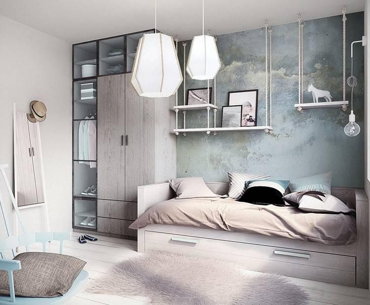 Современный дизайн комнаты подростка: 66 фото-идей для оригинальных интерьеров