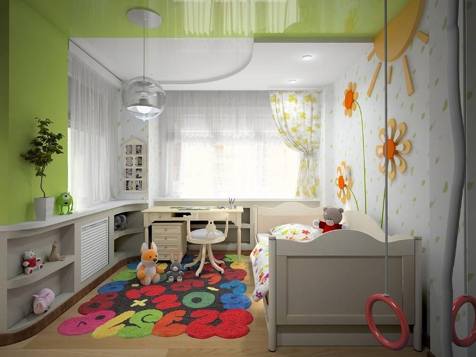Белый цвет в интерьере детской комнаты - 70 фото
