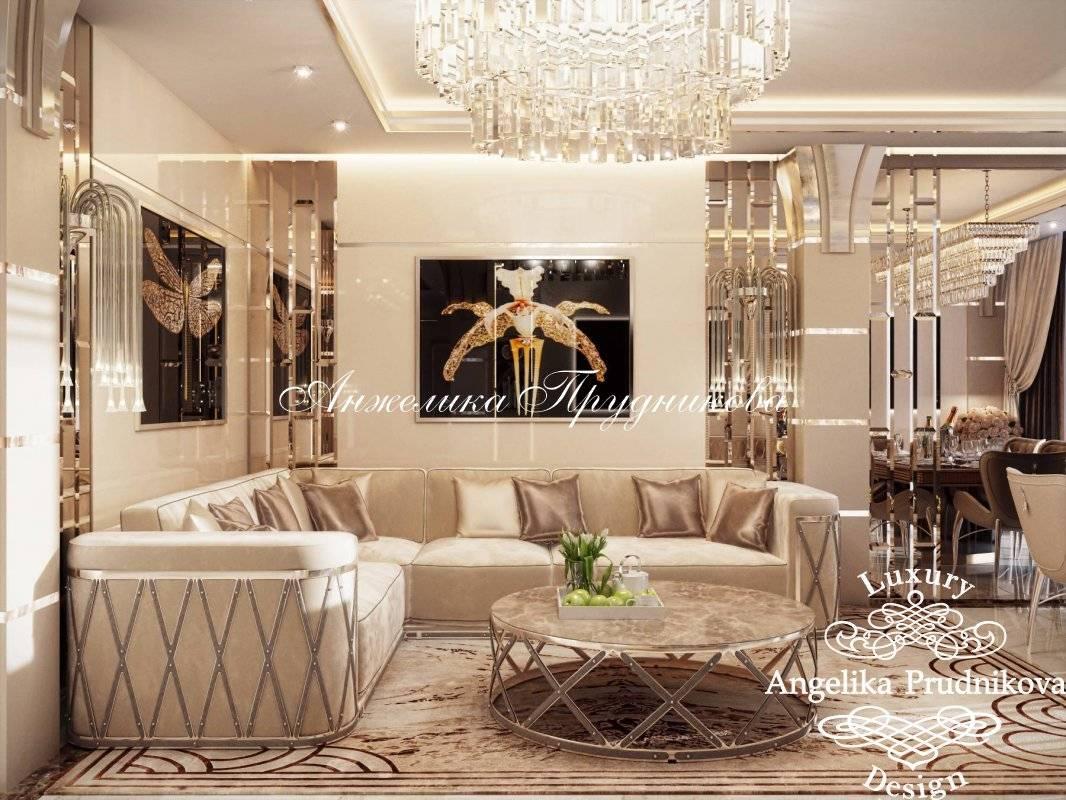 Гостиная в стиле арт-деко: 40 фото в интерьере + идеи дизайна