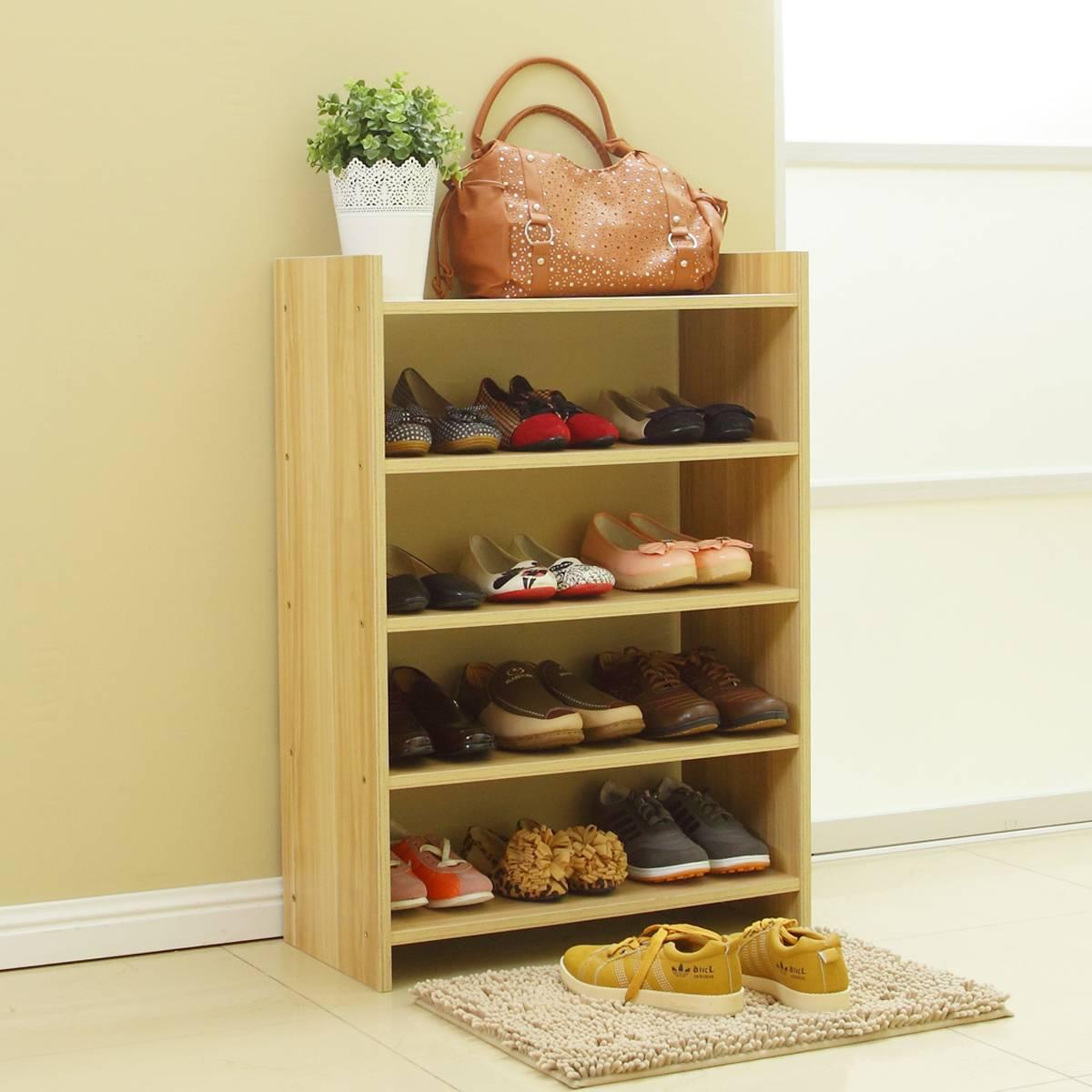 Полка для обуви своими руками - фото примеров