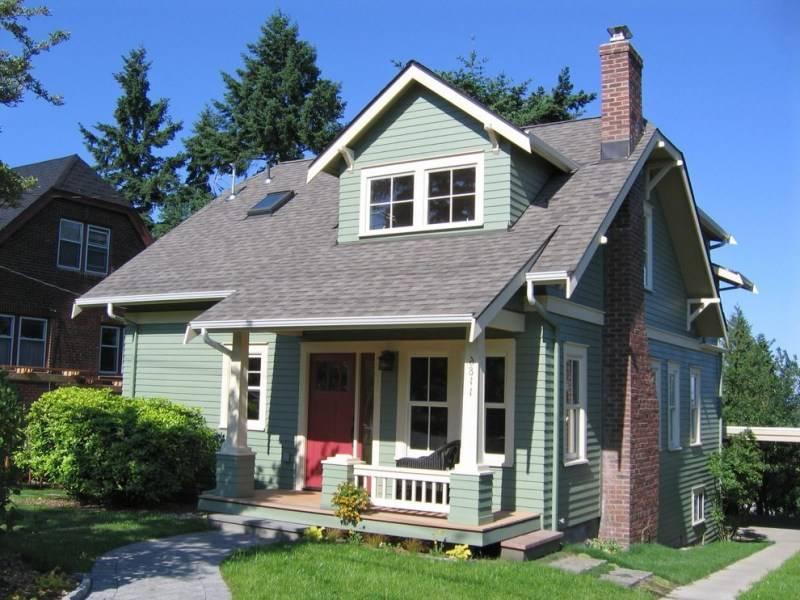 Несколько идей по преображению фасада дома - 109 фото примеров