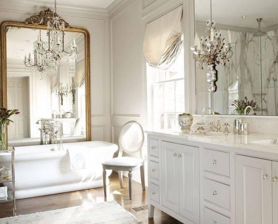 Дизайн ванной комнаты в классическом стиле (фото) – идеи интерьера