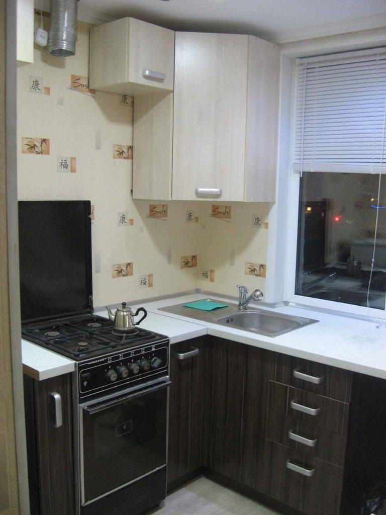 Кухня 5 кв. метров: 100 реальных фото примеров