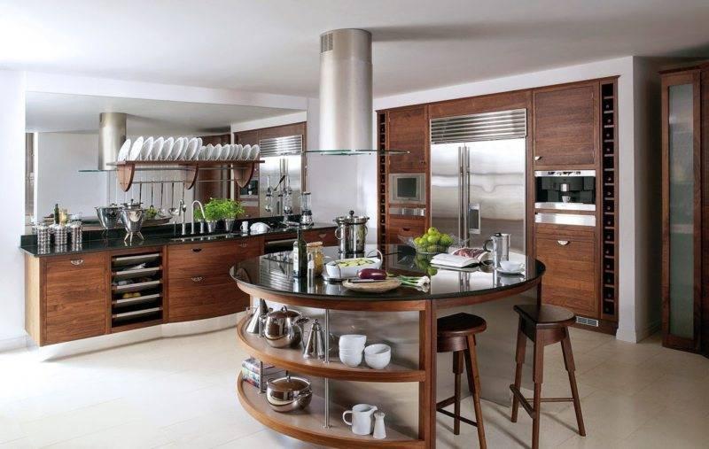 Кухня с островом: 80+ фото примеров, особенности дизайна и планировки