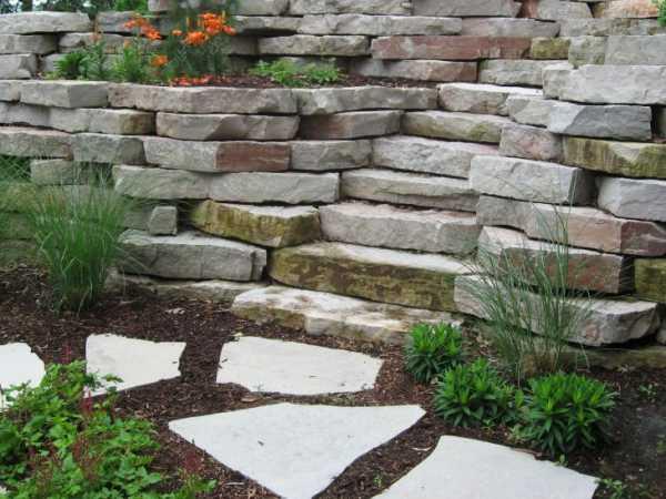 Ландшафтный камень, природный камень для ландшафтного дизайна сада и участка, цена, купить с доставкой по москве и московской области
