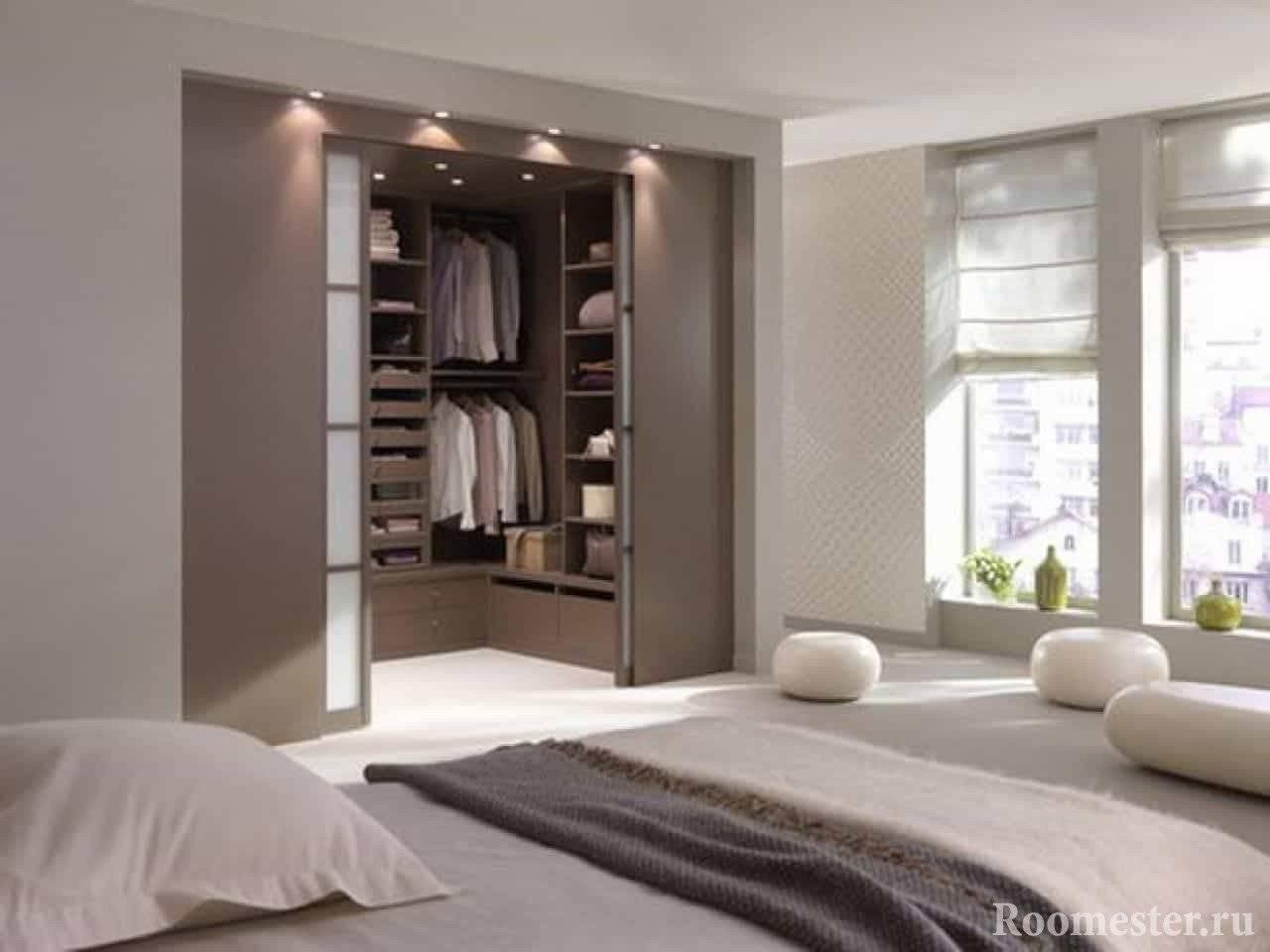 Дизайн гардеробной комнаты: 100 лучших идей организации на фото
