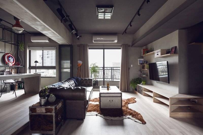 Студия в стиле лофт: 50 фото в интерьере, дизайнерские проекты