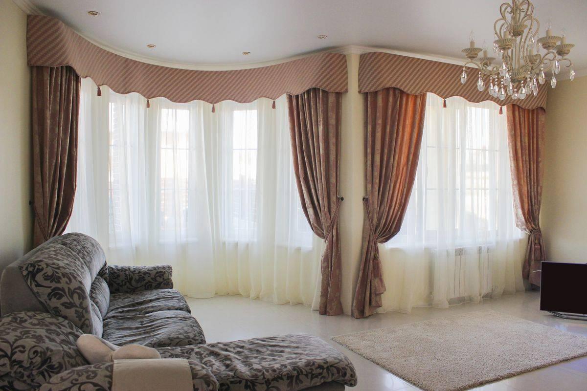 Шторы на узкое окно - 75 фото идеального сочетания в интерьере