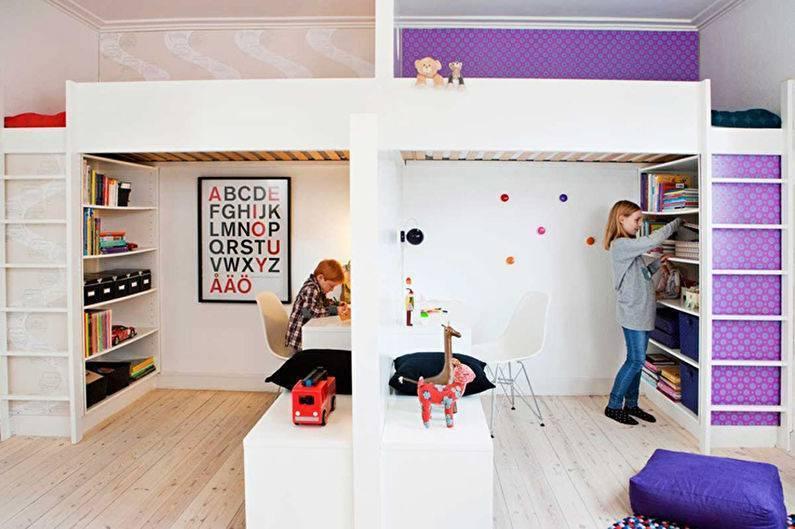Дизайн детской (50+ фото) | «печёный»