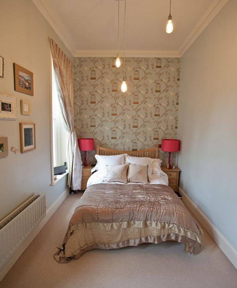 Вариации дизайна спальной комнаты 7 кв м