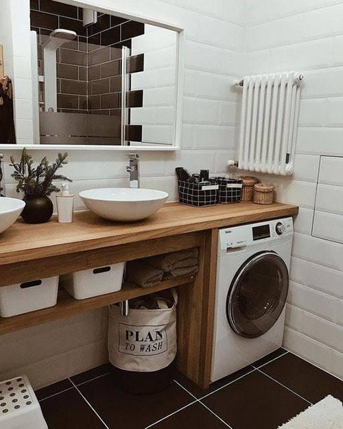 Ванная в скандинавском стиле - лучшие идеи оформления и современные решения украшения ванной комнаты