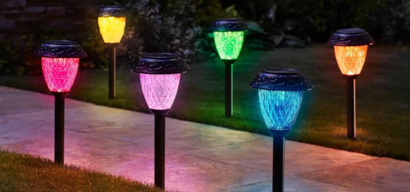 10 лучших садовых светильников на солнечных батареях - рейтинг 2020