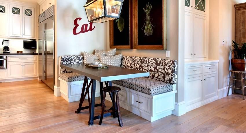 Диван на кухню: 135 фото оформления стильного и удобного интерьера
