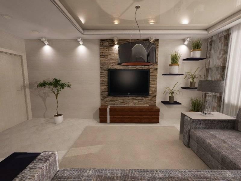Дизайн кухни-гостиной площадью 16 кв, м