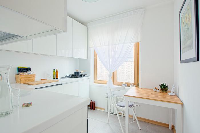 20 удачных примеров угловой кухни на 6 кв метрах