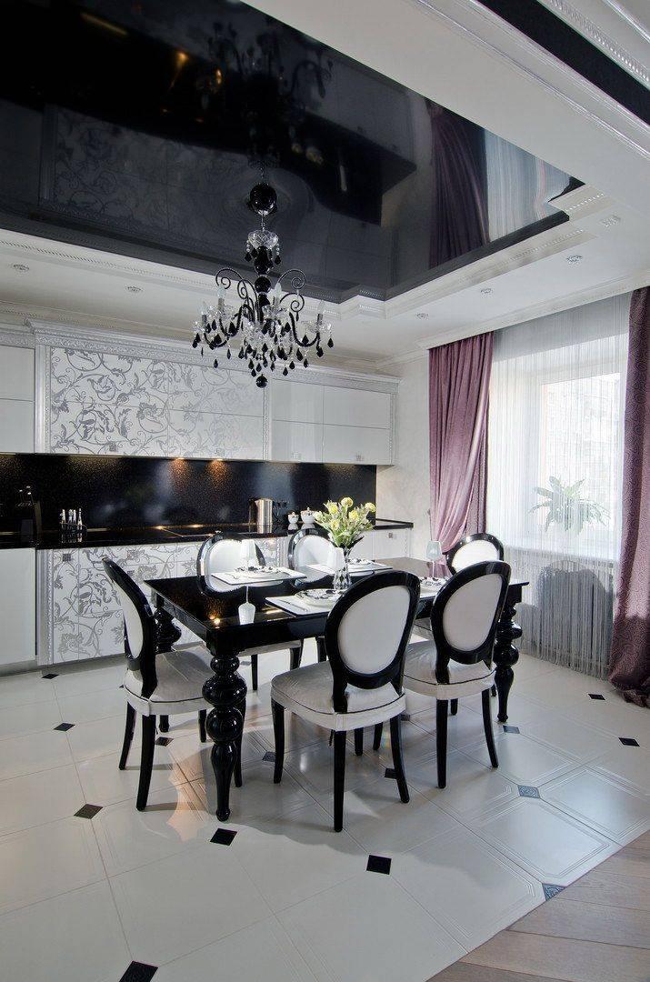 Стиль арт-деко в интерьере: особенности дизайна квартиры, как подобрать картины, шторы и прочие элементы + фото реальных объектов