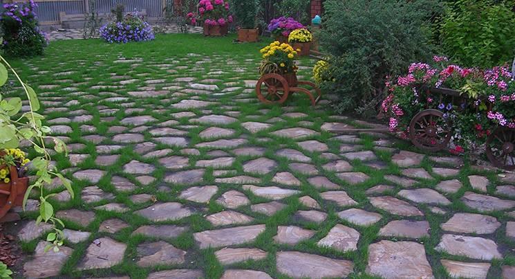 Камни в ландшафтном дизайне садового участка