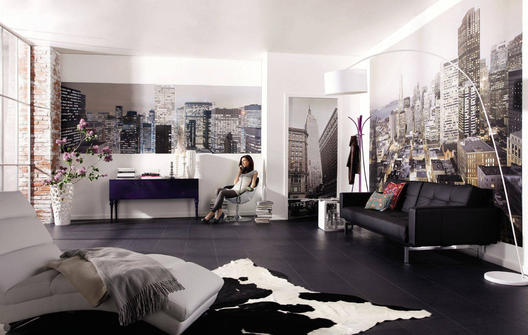 Гостиные комнаты – примеры дизайна интерьера после их отделки