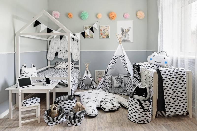 Детские спальни — красивые и современные варианты дизайна на 150 фото!
