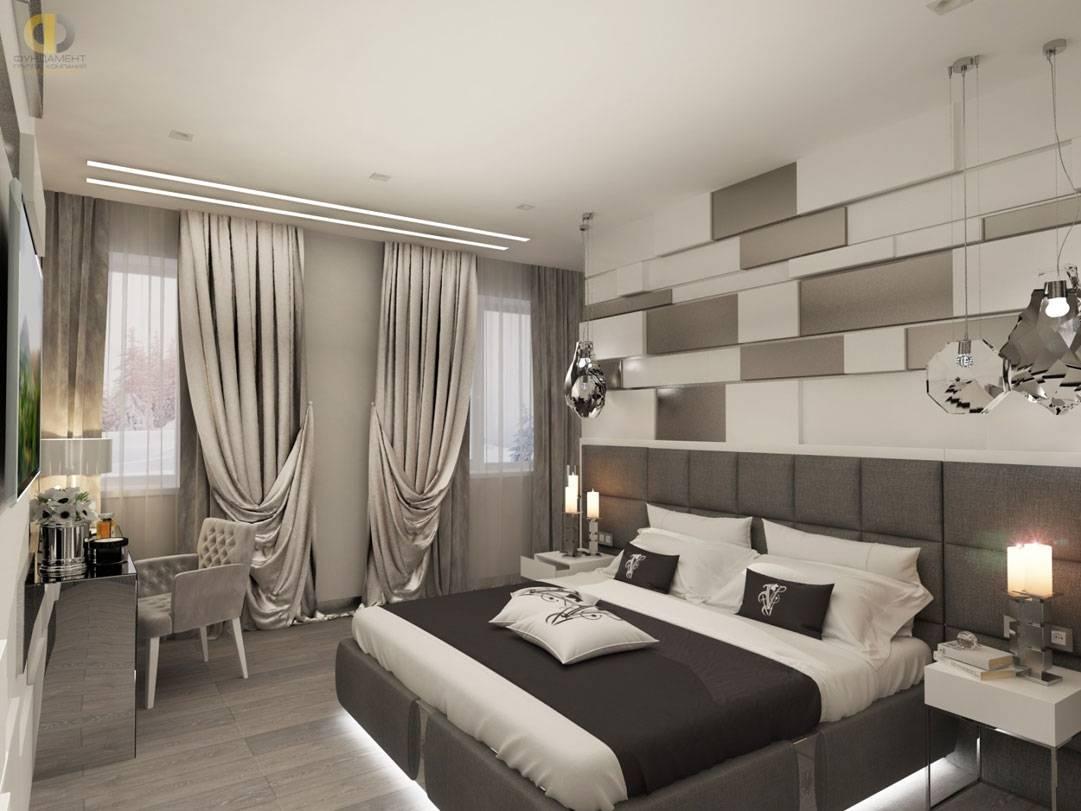 Дизайн интерьера спальни в современном стиле - 65 фото идей