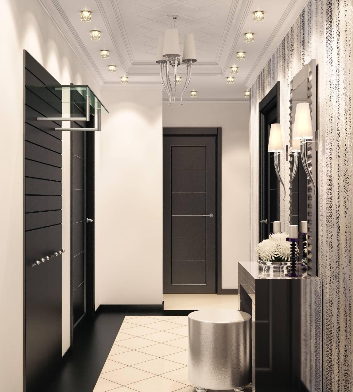 Особенности создания дизайна маленького коридора