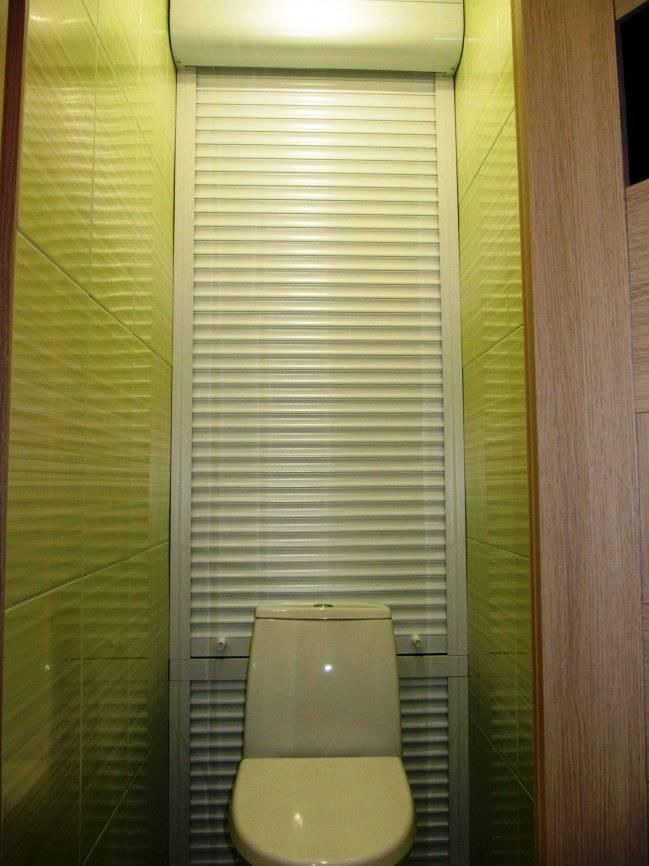 Рольставни для туалета: виды, преимущества и основные функции, особенности установки и фото